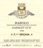Barolo Garblet Sue 2007